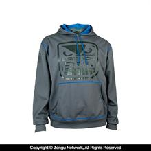 Fight DNA Hoodie - Charcoal Grey